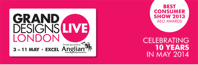 Grand Designs Live, 3rd - 11th May 2014
